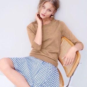 J. Crew Tippi Tan Merino Wool Sweater Pullover S